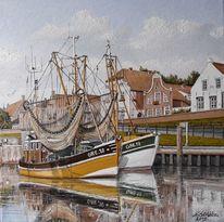 Kutter, Greetsiel, Ostfriesland, Hafen