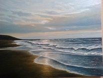 Wasser, Ölmalerei, Nordsee, Malerei