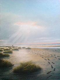 Ostfriesland, Strand, Malerei