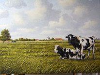 Ostfriesland, Friesland, Weite, Zeichnungen