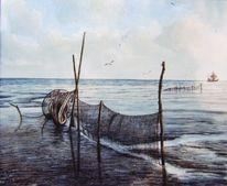 See, Meer, Nordsee, Watt