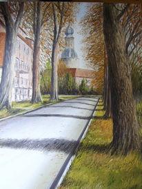 Malerei, Friesland, Schloss, Geschichte