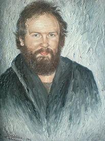 Ölmalerei, Malen, Portrait, Malerei