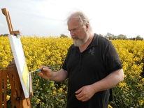 Lothar strübbe, Malerei, Landschaft, Pinnwand