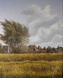 Wangerland, Tettens, Friesland, Malerei