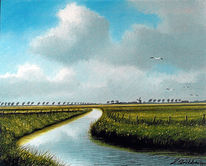 Watt, Nordsee, Ostfriesland, Friesland