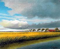 Moor, See, Friesland, Weite