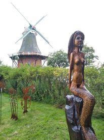 Skulptur, Greetsiel, Nixe, Greetje