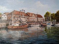 Hooksiel, Nordsee, Wasser wangerland, Hafen