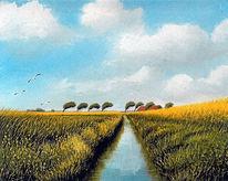 Ostfriesland, Moor, Friesland, Weite