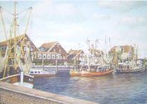 Weite, Ostfriesland, Friesland, Malerei