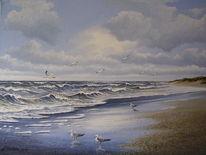 Stimmung, Norden, Malerei, Nordsee