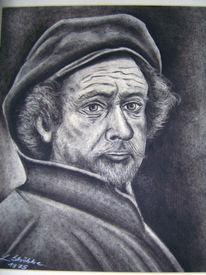 Portrait, Zeichnung, Zeichnungen,