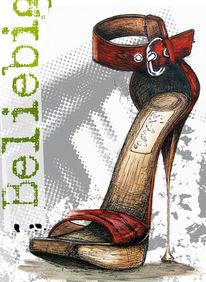 Stiletto, Beliebigkeit, Schuhe, Sinnsuche