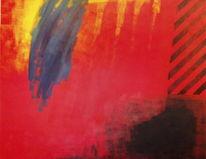 Farben, Rot, Komposition, Malerei