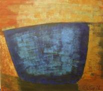 Acrylmalerei, Farben, Pigmente, Abstrakt