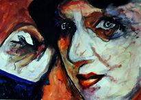 Gesicht, Portrait, Ausdruck, Menschen