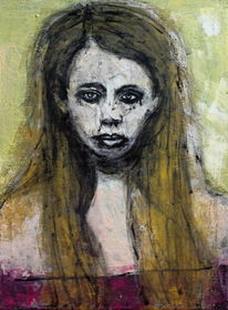 Gesicht, Figurativ, Portrait, Frau