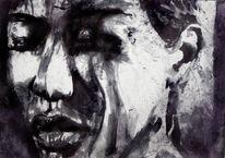 Gesicht, Ausdruck, Frau, Portrait
