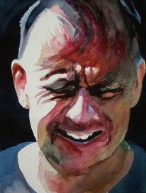 Mann, Leid, Emotion, Portrait