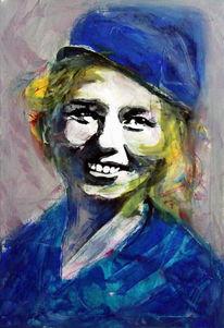 Portrait, Gesicht, Figurativ, Ausdruck