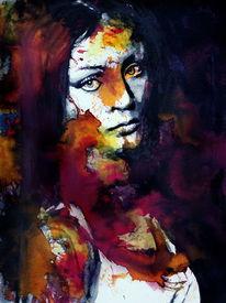 Frau, Portrait, Menschen, Farben