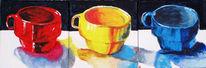 Acrylmalerei, Malerei, Tasse, Leer