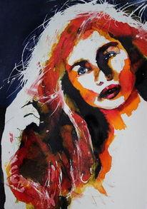 Frau, Ausdruck, Menschen, Blick