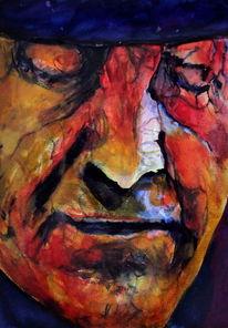 Mann, Ausdruck, Gesicht, Portrait