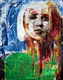 Figurativ, Menschen, Abstrakt, Frau