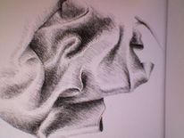 Falten, Zeichnungen,