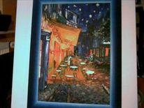 Farben, Van gogh, Nachtcafe, Leuchten