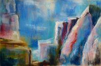 Himmel, Bunt, Landschaft, Abstrakt