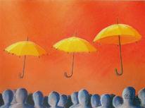 Pastellmalerei, Surreal, Malerei,