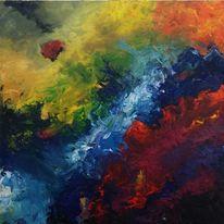 Gelb, Abstrakt, Rot, Farben