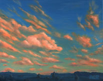 Sonnenaufgang, Morgen, Wolken, Landschaft