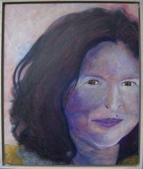 Ölmalerei, Abstrakt, Portrait, Malerei