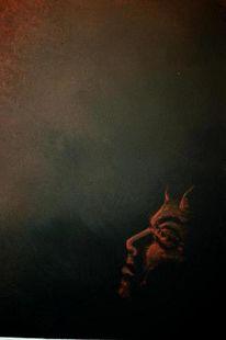 Teufel, Malerei