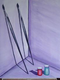 Stillleben, Atelier, Malerei