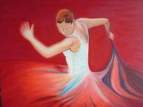 Flamenco, Malerei, Figural