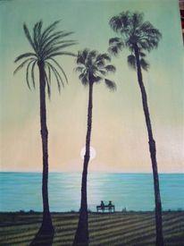 Landschaft, Malerei, Eden
