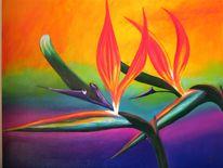 Blumen, Malerei, Pflanzen