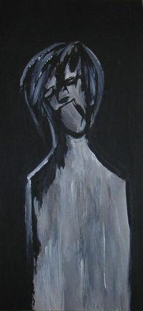 Acrylmalerei, Malerei, Figural, Menschlichkeit