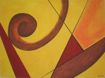 Abstrakt, Malerei, Anfang