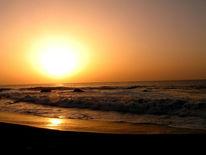Sonnenuntergang, Nacht, Fotografie, Meer