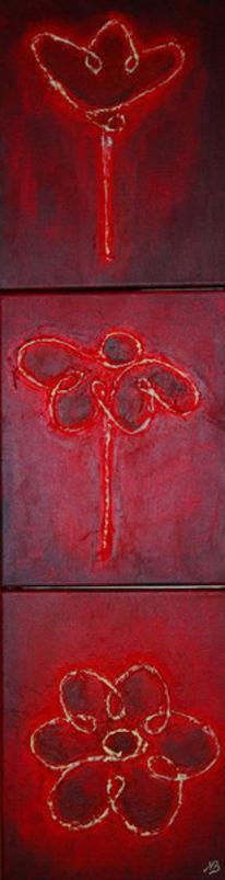 Blüte, Rot, Natur, Knospe
