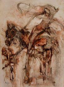 Pferde, Apokalypse, Malerei