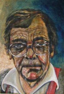 Gemälde, Alter mann, Stimmung, Arbeiter