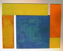 Colourfield, Malerei, Farbfeldmalerei, Fundstücke