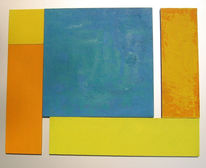 Malerei, Farbfeldmalerei, Colourfield, Fundstücke